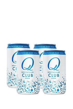 Q Mixers Club Soda, 4 Pack
