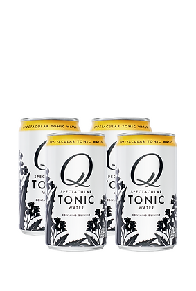 Q Mixers Tonic Water, 4 Pack