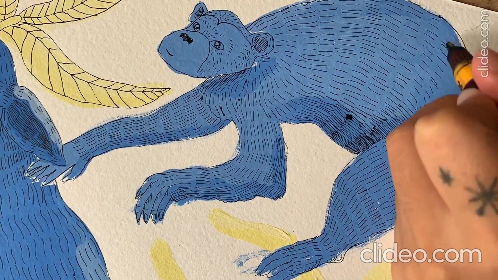 Animales Azules de Lucia Coz - Rompecabezas N5
