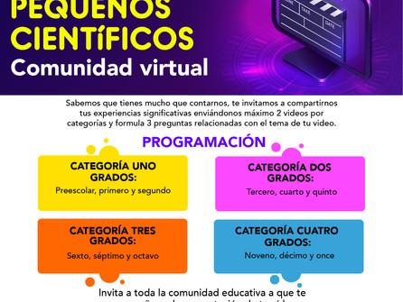 RONDA PEQUEÑOS CIENTÍFICOS - Comunidad virtual