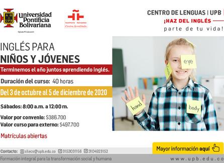 Inglés para niños y jóvenes -  UPB