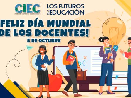 ¡FELIZ DÍA MUNDIAL DE LOS DOCENTES!