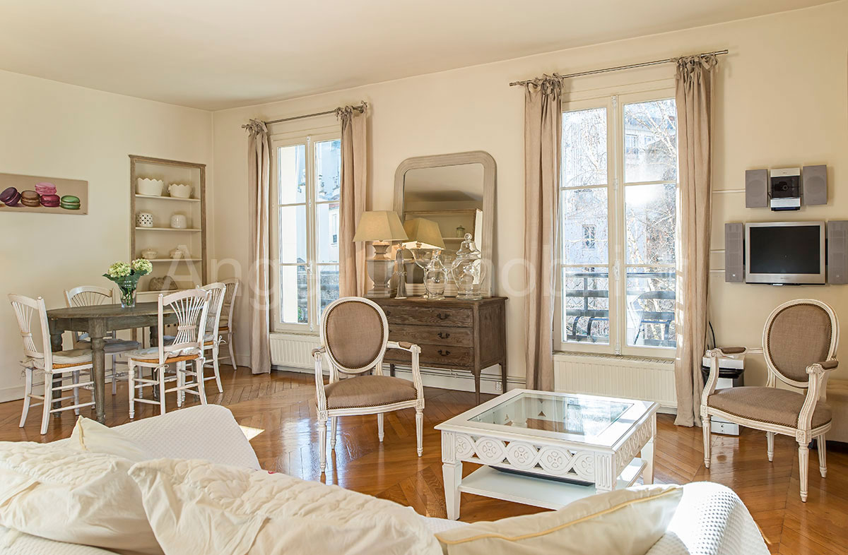 Appartement à Passy - Salon