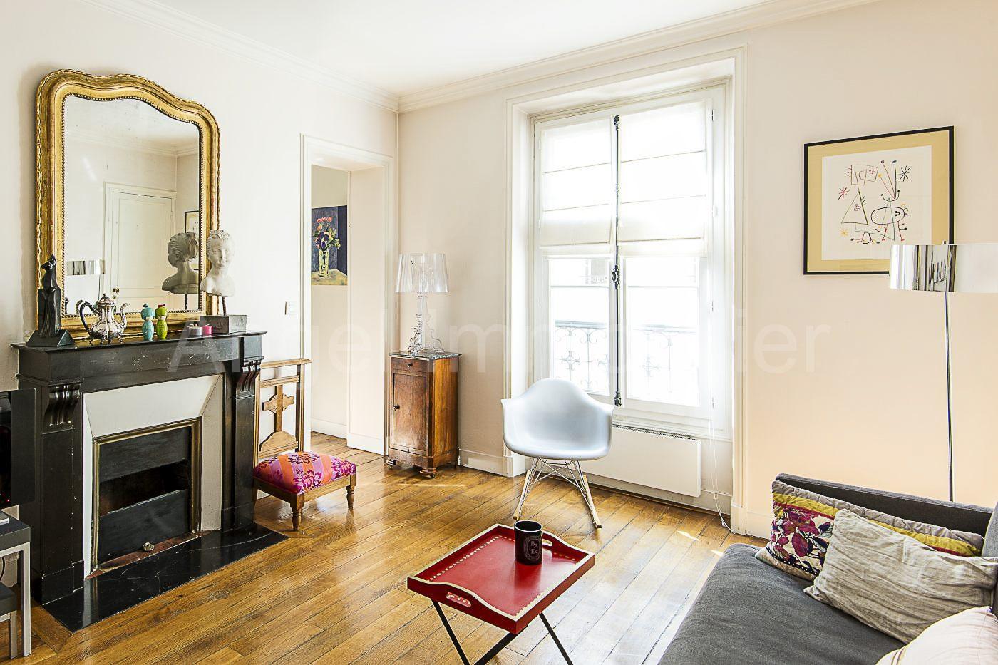 2 pièces, rue Cler Paris 7ème