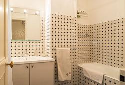 Appartement à Passy - Salle de bains