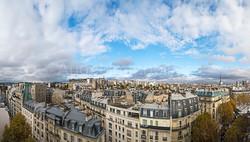 Panorama sur les toits de Paris