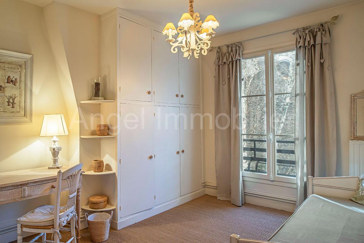 Appartement à Passy - Chambre