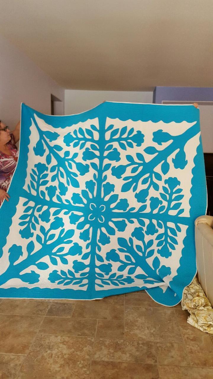 A True Hawaiian Quilt