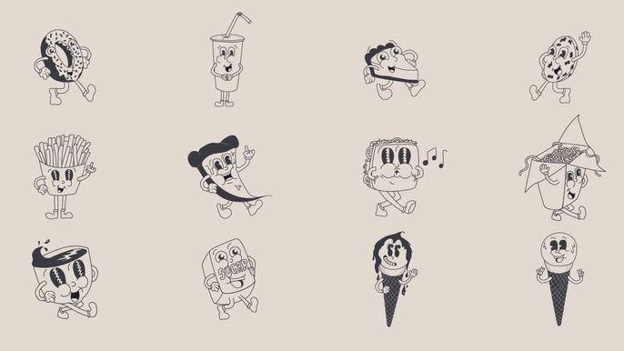 Food Character Mascots