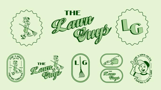 The Lawn Guys Branding