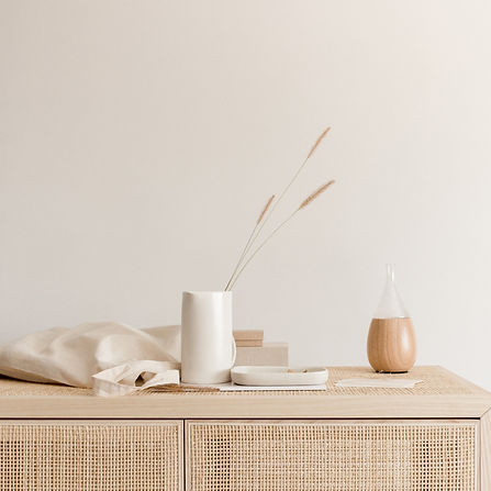 Photography Services Rattan Sideboard
