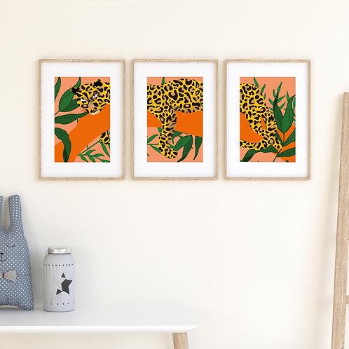 Set of 3 –Spotty Leopard