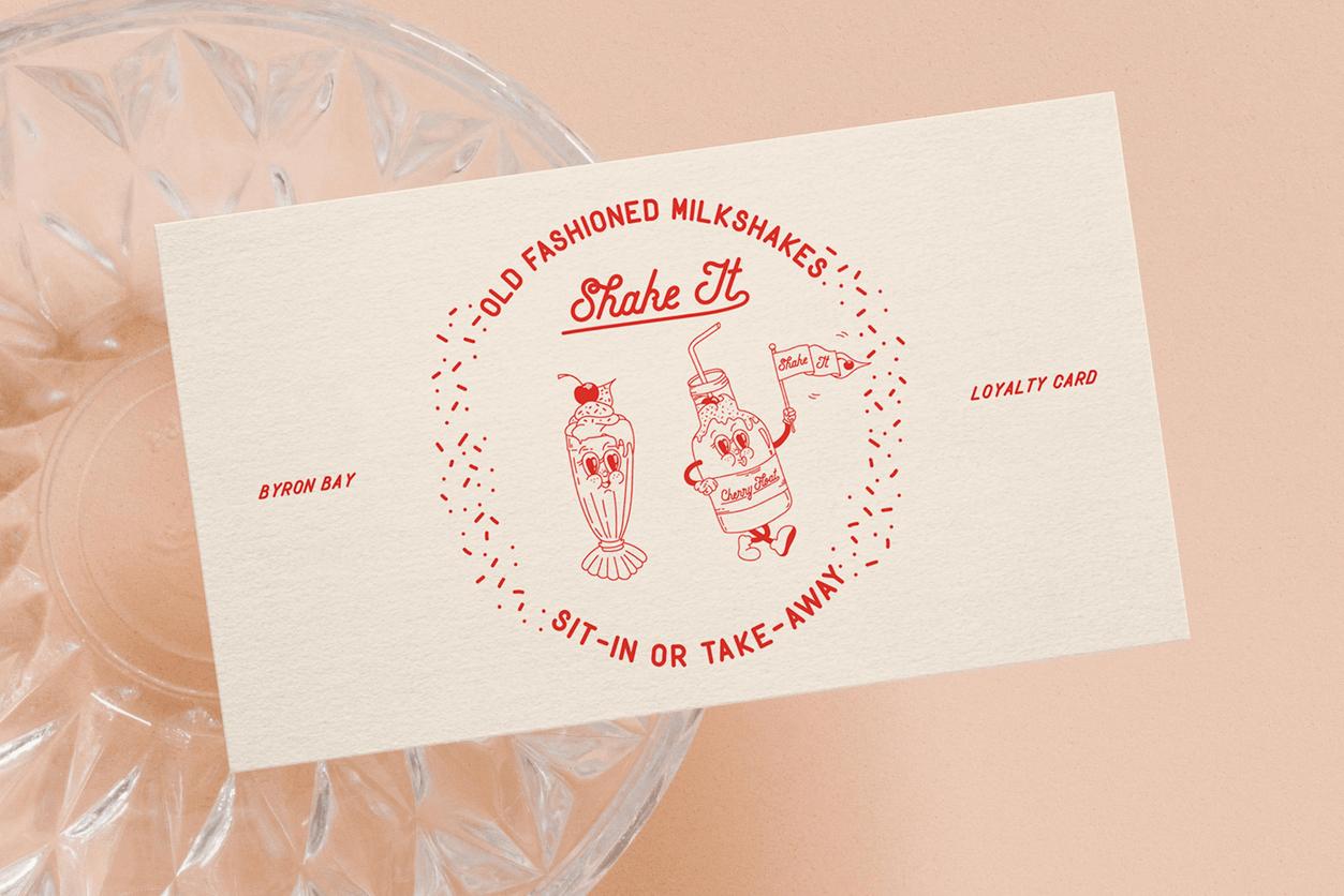 Lucky Fig- Brand Design - Loyalty Card 2