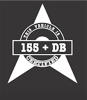 ACW Certified DB Decal W12cm x H15cm