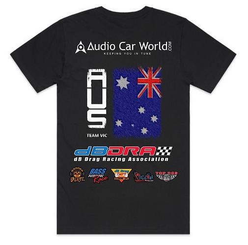 Audio Car World QR dBDRA Team STATE Shirts