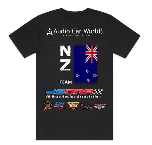 Audio Car World dBDRA Team Country Shirts