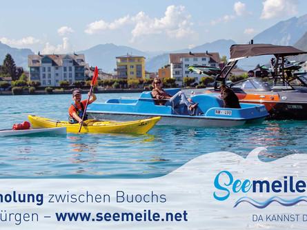 Plakat für Tourismus Buochs-Ennetbürgen