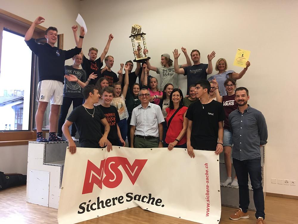 Sieger des NSV Klassencups 2018, die 3. ORS Wolfenschiessen