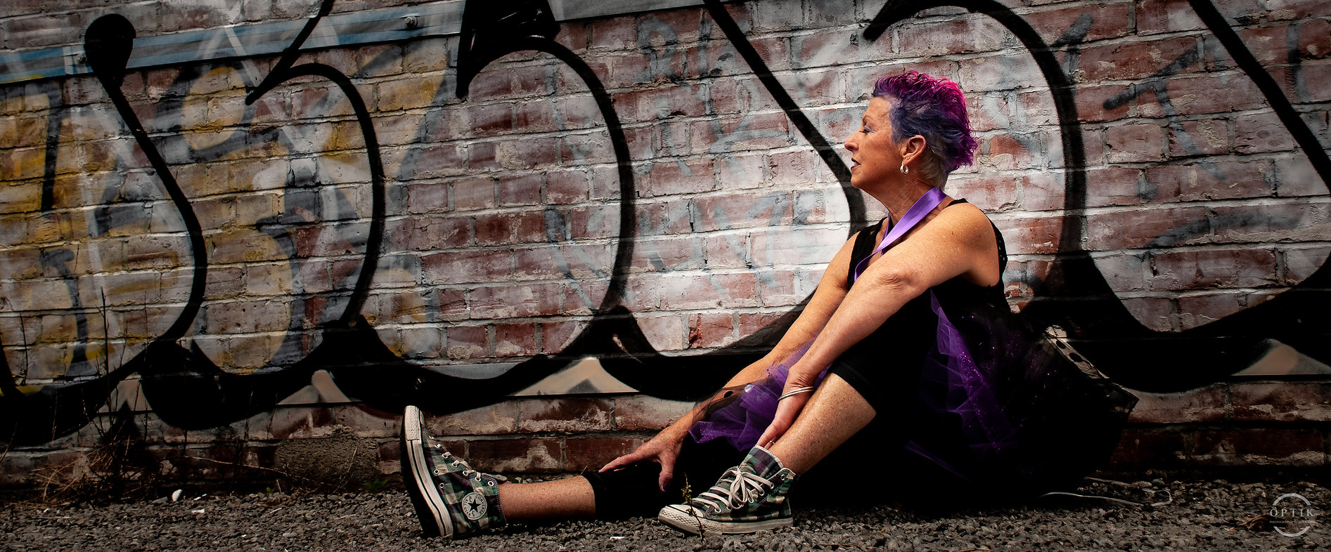 Head Shot Portrait model grunge photography punk