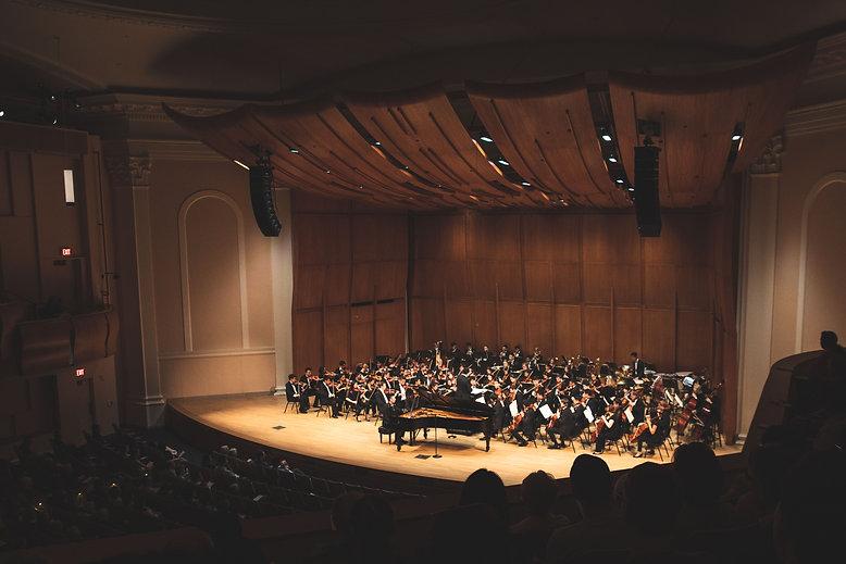 Baldwin Auditorium during a concert