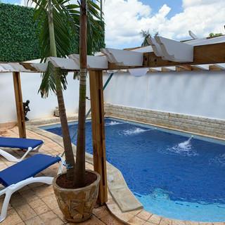 Inground pool at Ivan Chef Casa