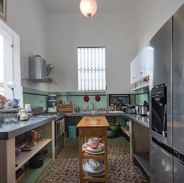 Kitchen Casa Particular with Pool Ivan Chef Casa