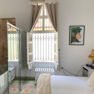 Bedroom with Marble Bath