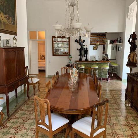 Dinning Room and Bar at Villa Carolina by Chef Ivan