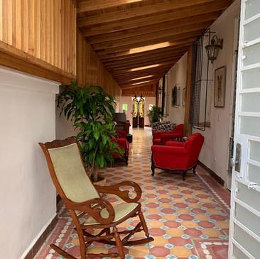 Indoor Cigar Lounge at Villa Carolina | Cigar Lounge Havana