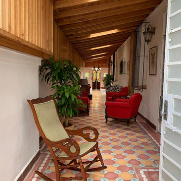 Indoor Cigar Lounge at Villa Carolina   Cigar Lounge Havana