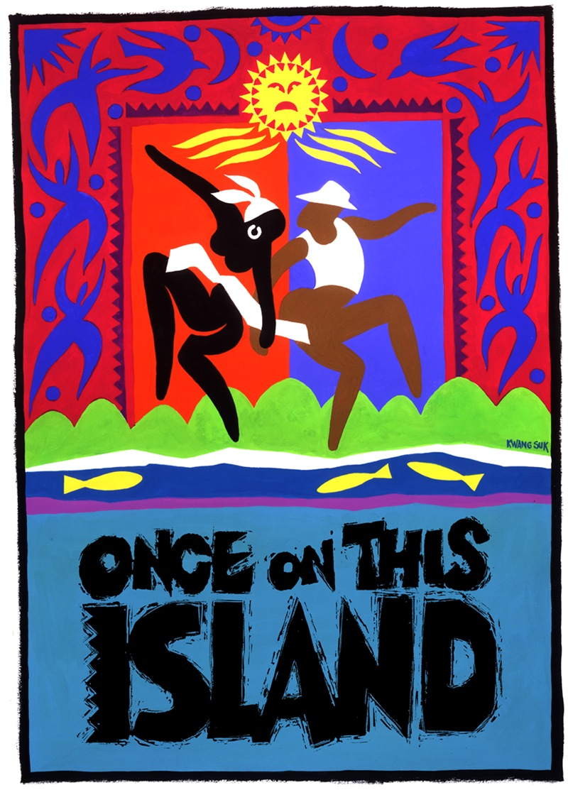 Once On This Island Color