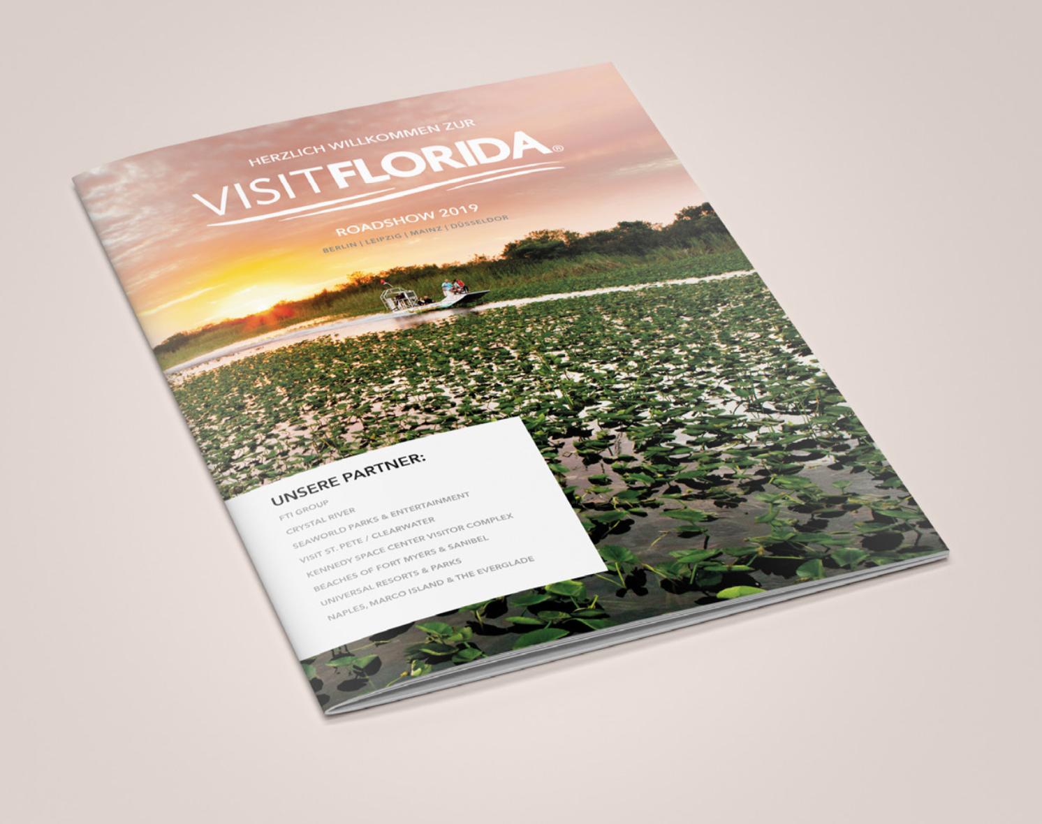 Visit Florida Broschüre
