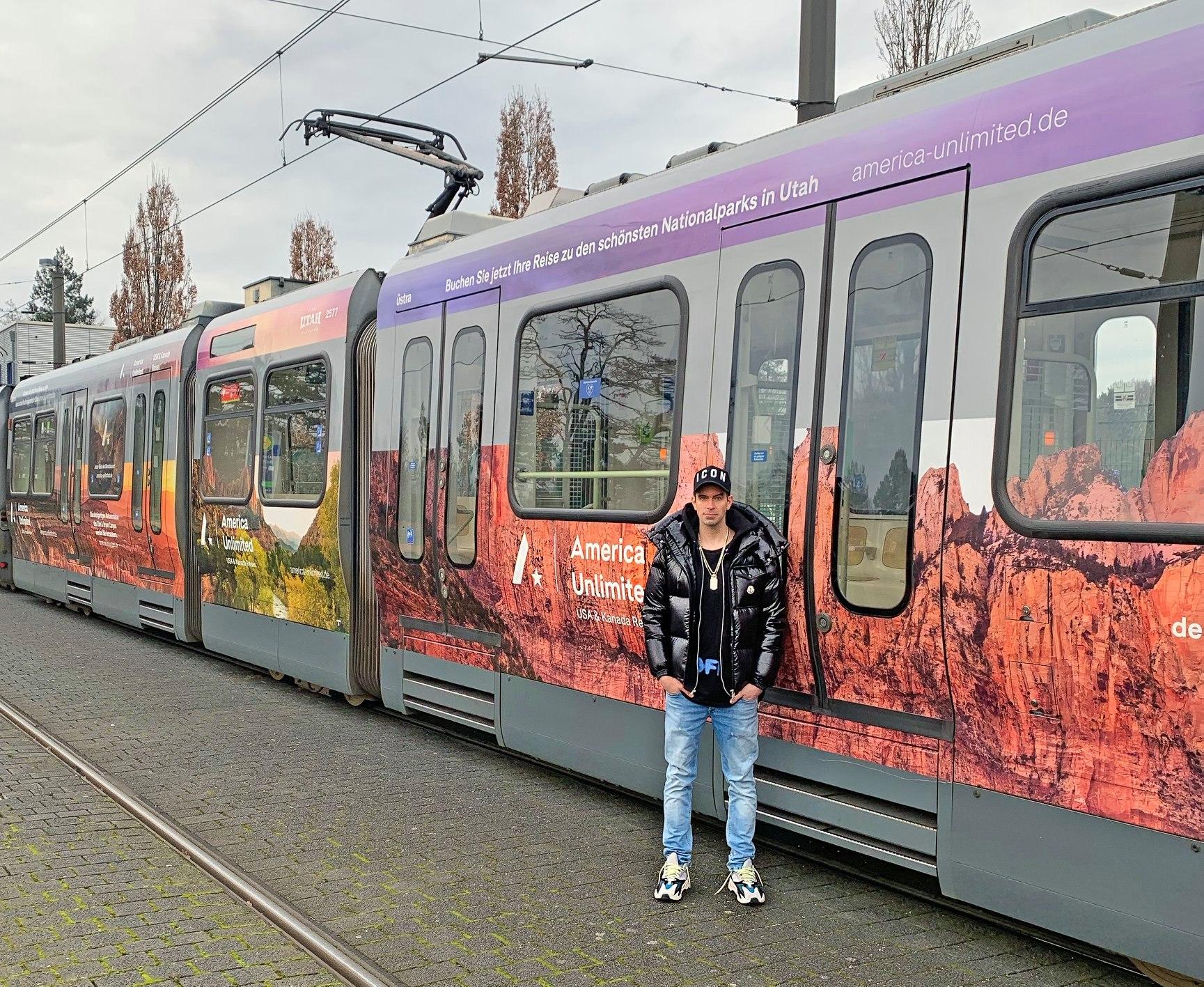 Stadtbahn Visualisierung für America Unlimited