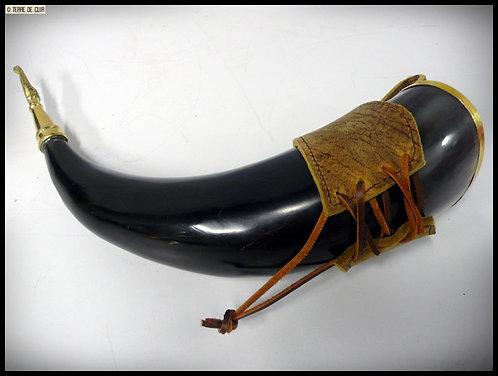 Fourreau/Porte corne à boire médiéval/viking