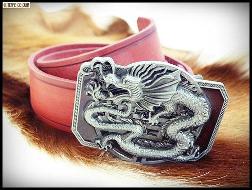 Ceinture Dragon  - croupon tannage végétal