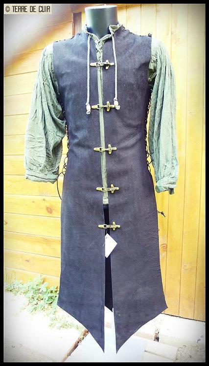 Tabard / tunique médiévale cuir