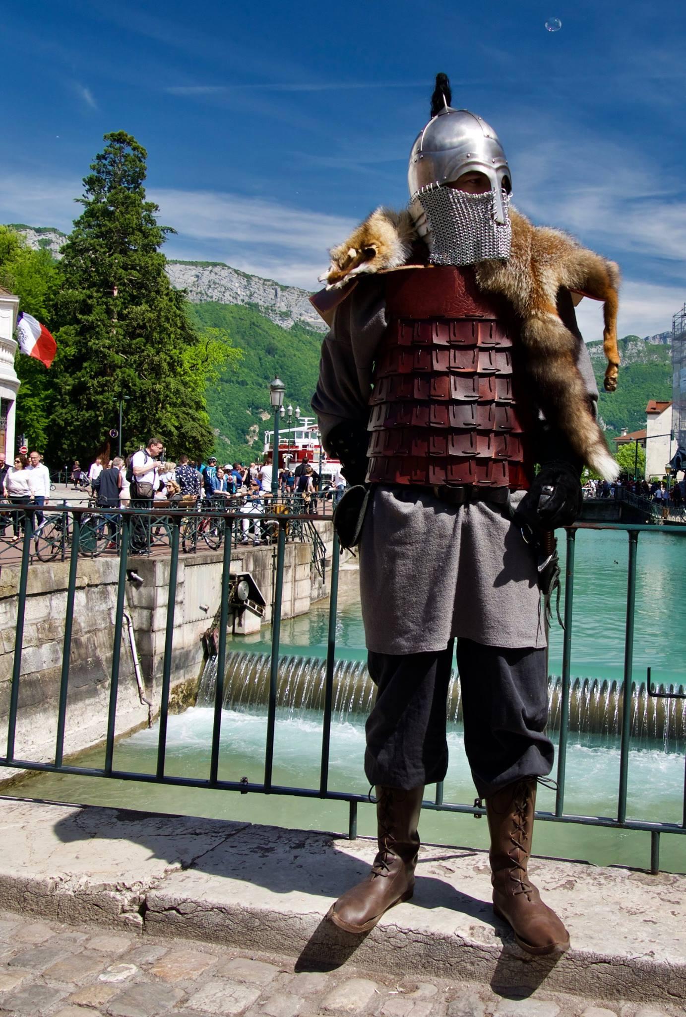 armure lamellaire pour viking