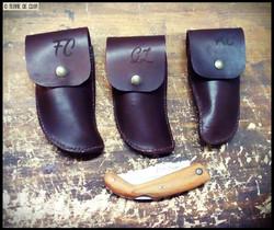 Etuis couteaux personnalisés