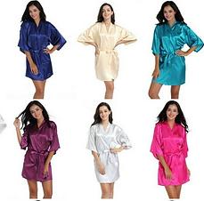 Silk(ish) Dressing Gown