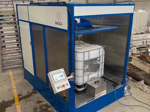 Basca WM A250-30 - IBC & Tank cleaning machine