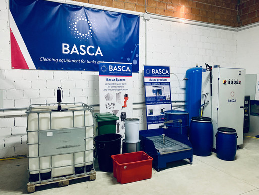 Basca3T - Experience the new containers cleaning machine