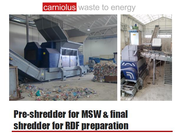Carniolus - Pre-Shredder for MSW