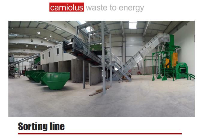 Carniolus - Sorting Line