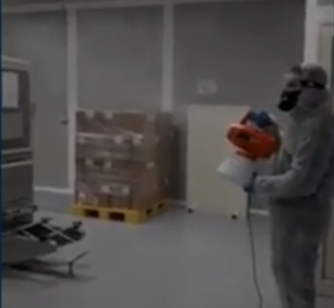 Igienizzazione e sanificazione industriale per la lotta al Coronavirus covid 19