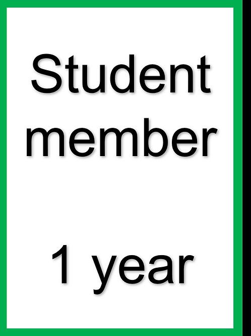 Student membership - 2021