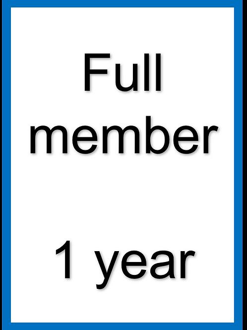 Full membership - 2021