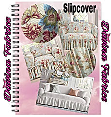 Shabby chic -slip cover