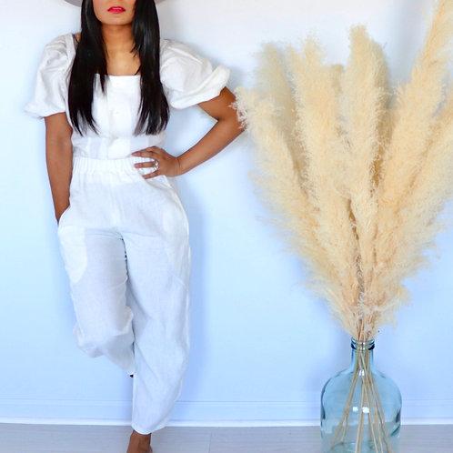Lovely Linen Loungewear Pants