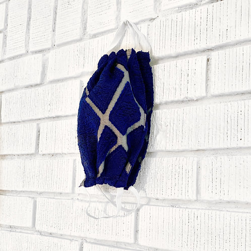 Blue Symmetry Mask