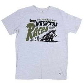 Ride&Sons Motorcycle Races grey